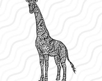 Giraffe svg #20, Download drawings