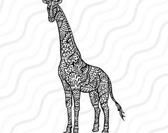 Giraffe svg #20, Download drawings