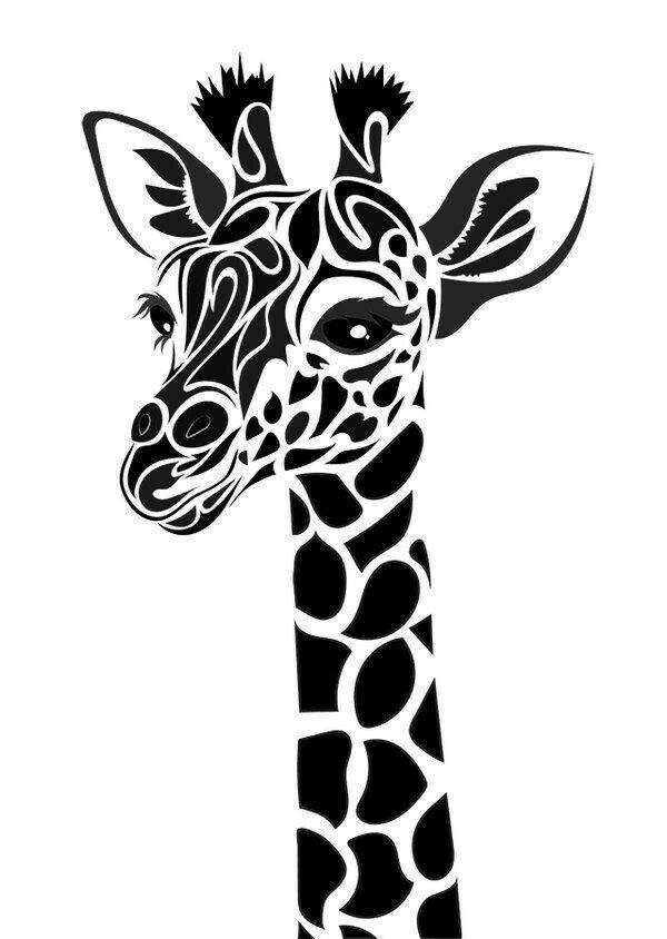 giraffe svg free #965, Download drawings