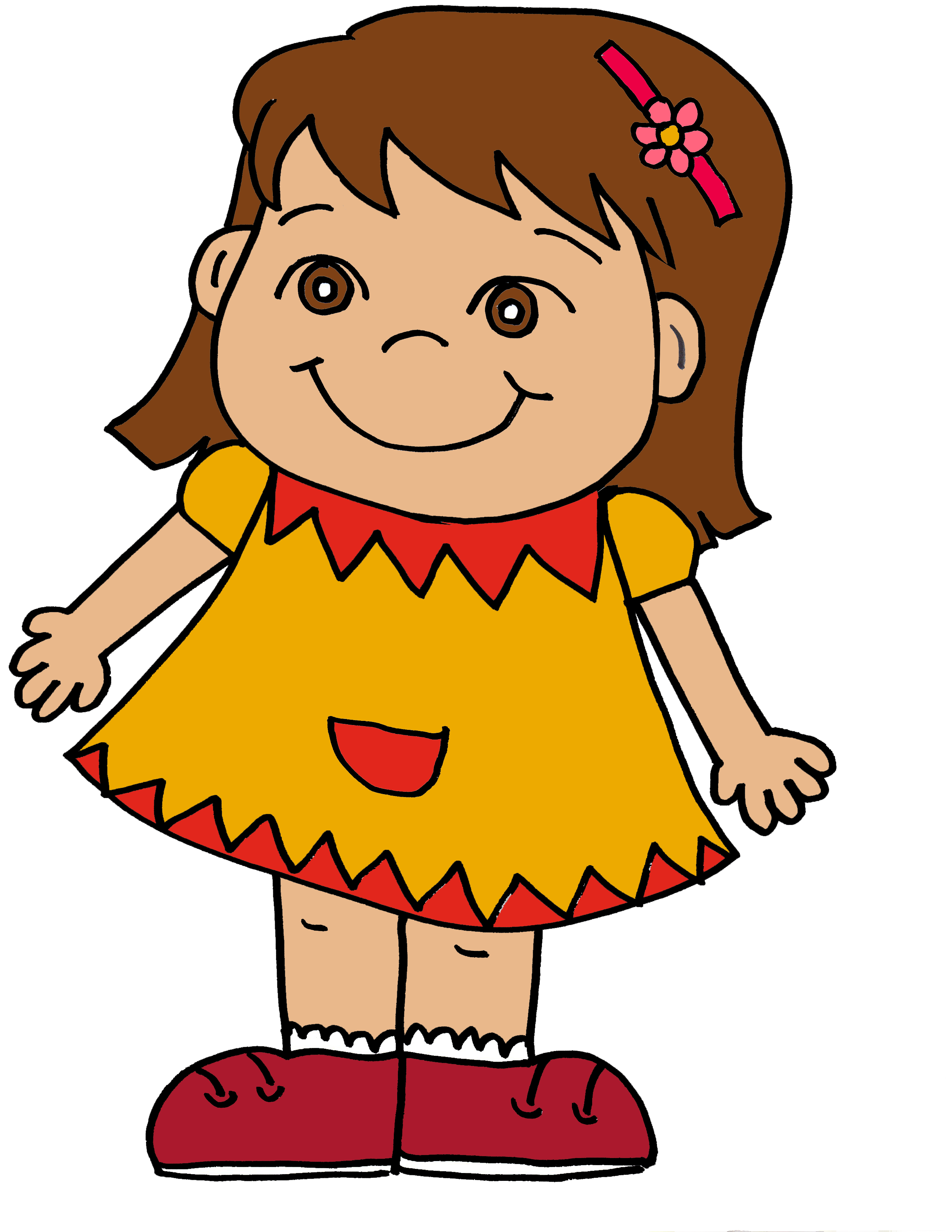 Girl clipart #1, Download drawings