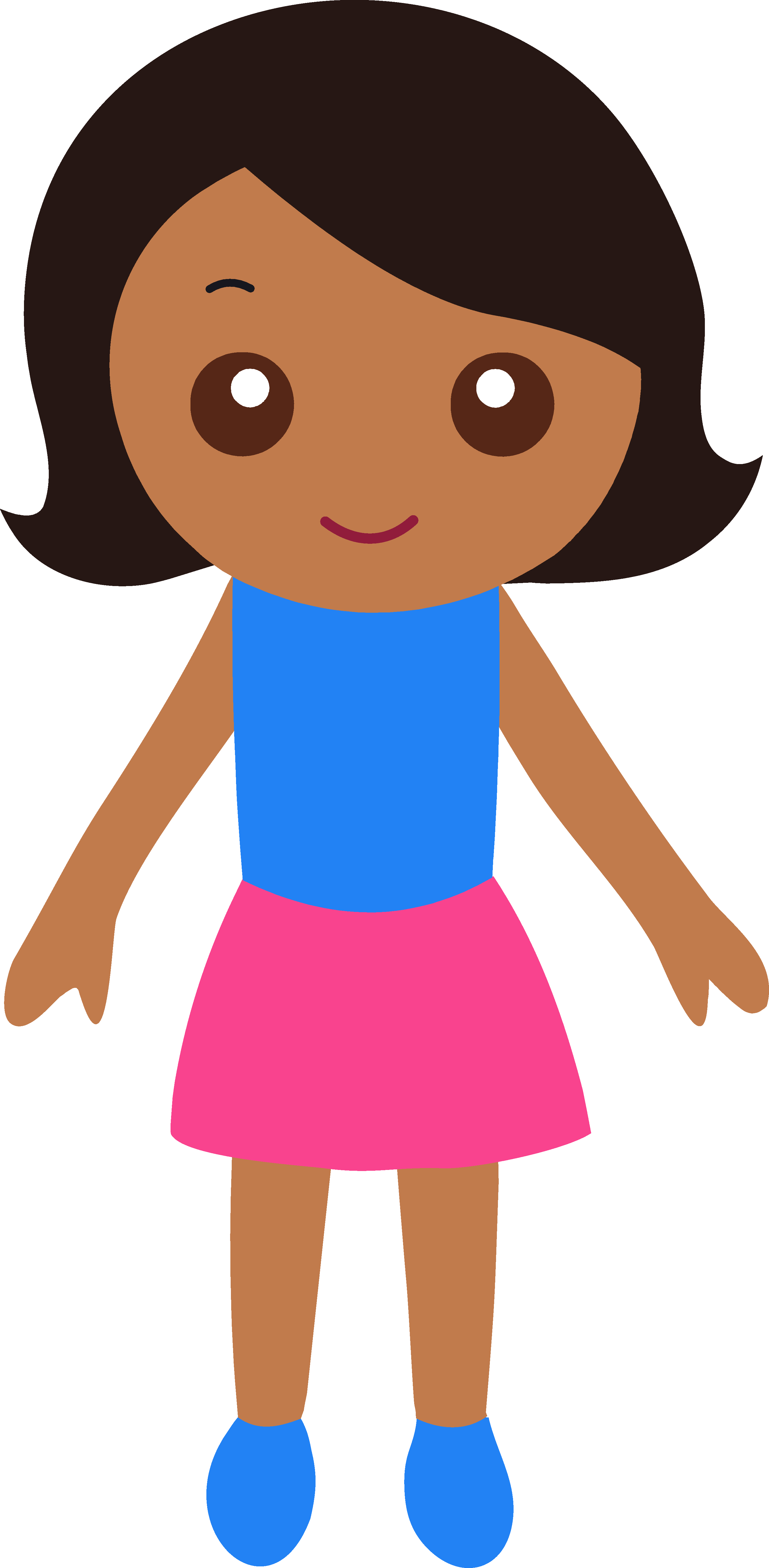 Girl clipart #2, Download drawings