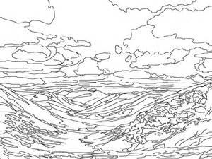 Glacier coloring #12, Download drawings