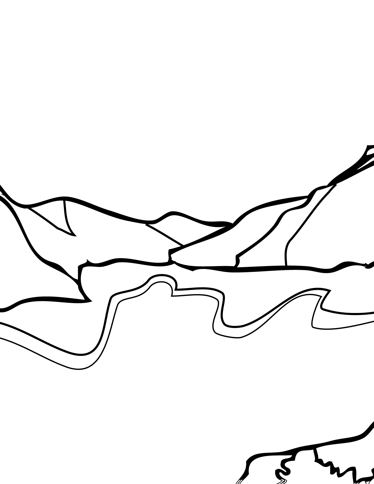 Glacier coloring #3, Download drawings