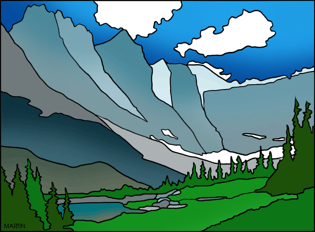 Glacier National Park clipart #4, Download drawings