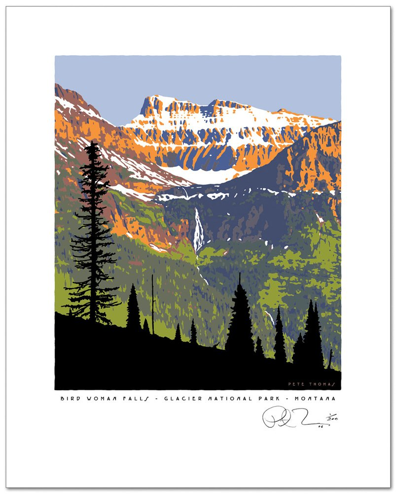 Glacier National Park clipart #9, Download drawings