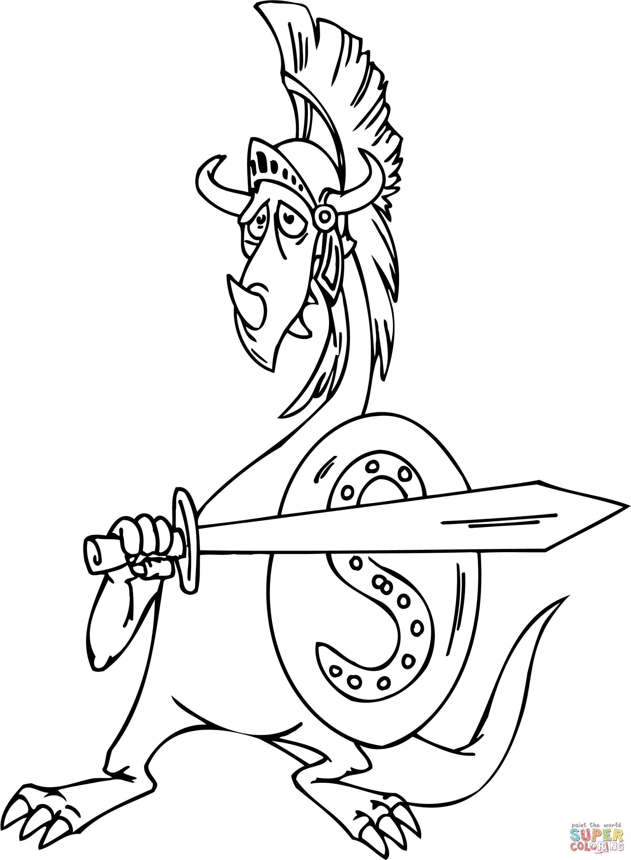 Gladiator coloring #2, Download drawings