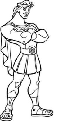 Gladiator coloring #11, Download drawings