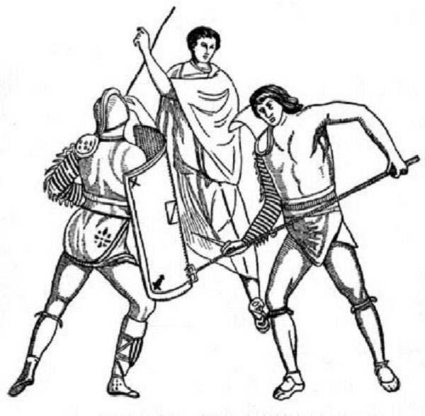Gladiator coloring #20, Download drawings