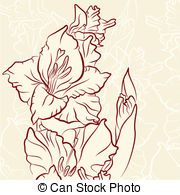 Gladiolus clipart #11, Download drawings