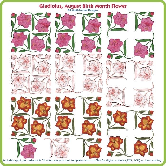 Gladiolus svg #13, Download drawings