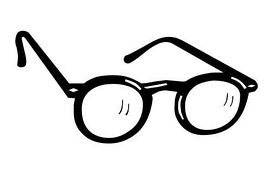 Glasses clipart #7, Download drawings
