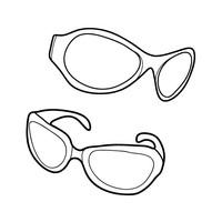 Glasses coloring #8, Download drawings