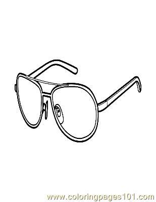 Glasses coloring #6, Download drawings