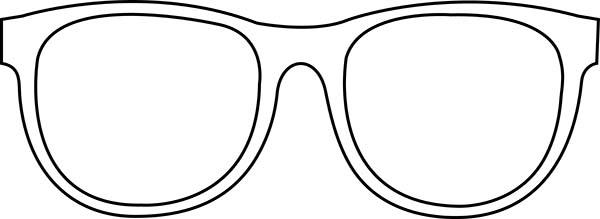 Glasses coloring #4, Download drawings