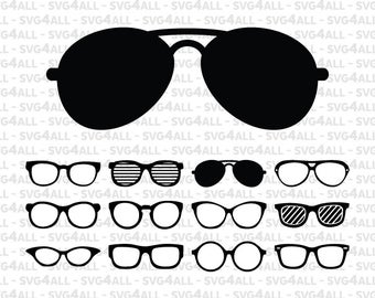 Glasses svg #1000, Download drawings