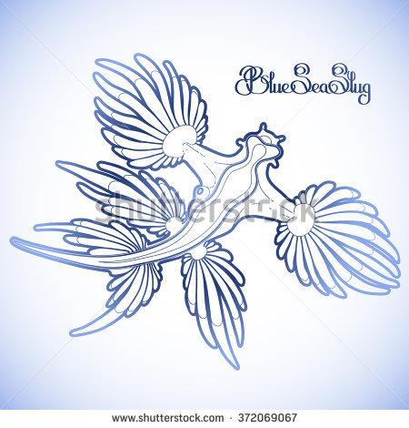 Glaucus Atlanticus coloring #11, Download drawings