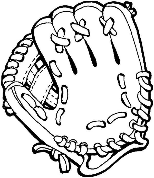 Glove coloring #16, Download drawings