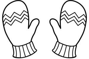 Glove coloring #14, Download drawings