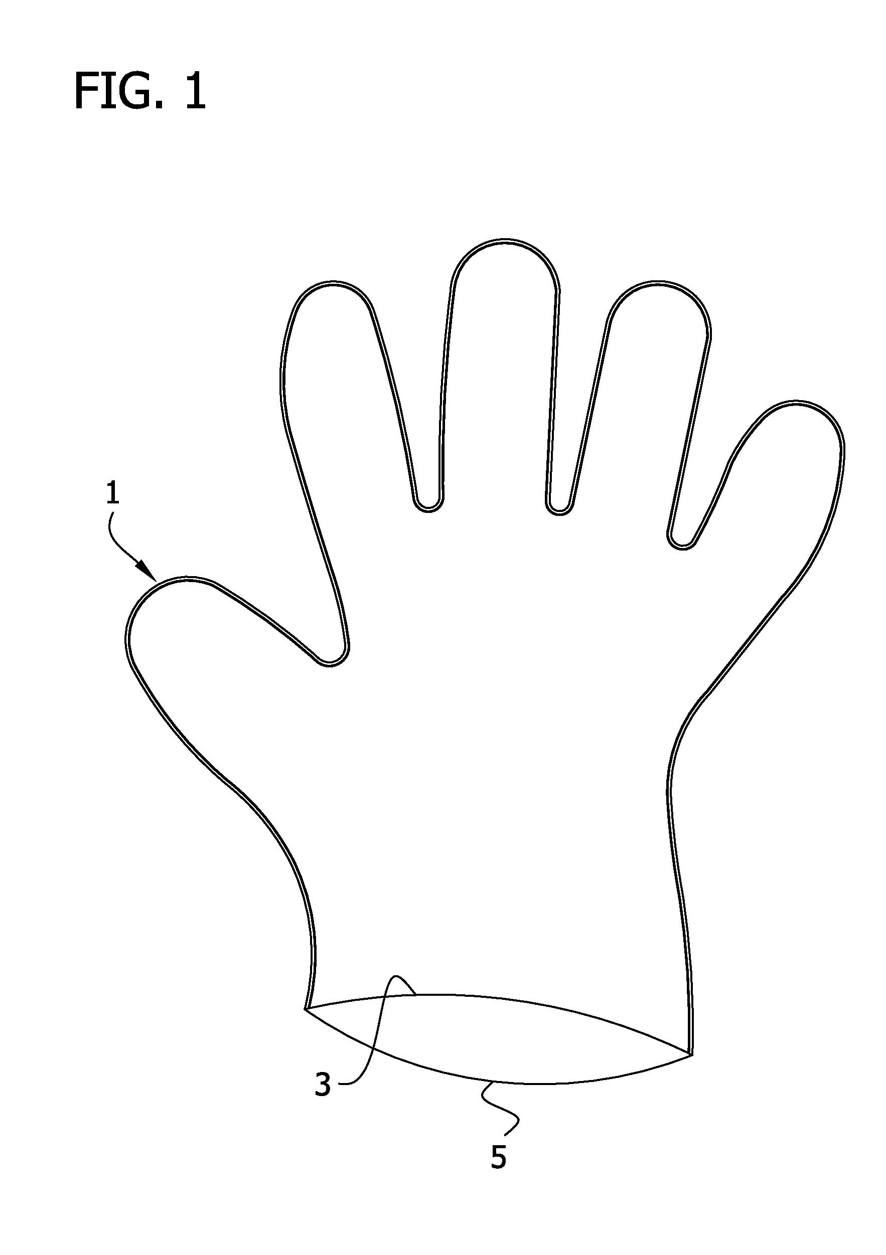 Glove coloring #2, Download drawings
