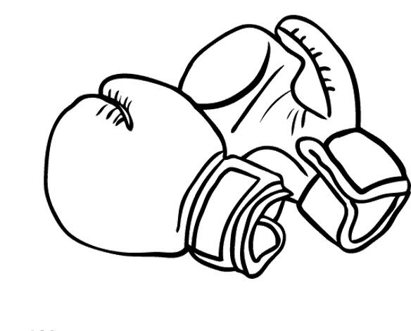 Glove coloring #1, Download drawings