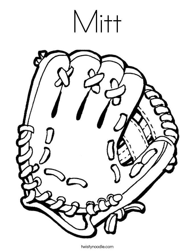 Glove coloring #20, Download drawings