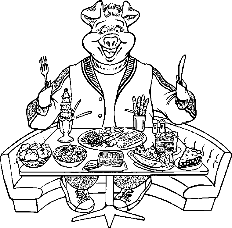 Gluttony clipart #7, Download drawings