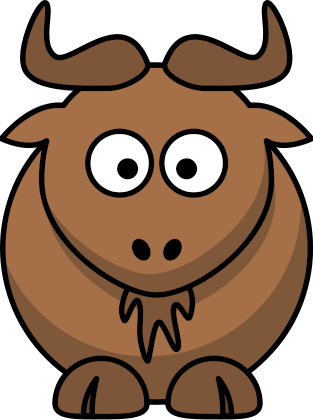 Gnu clipart #12, Download drawings