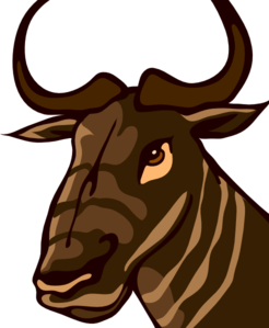 Gnu clipart #6, Download drawings