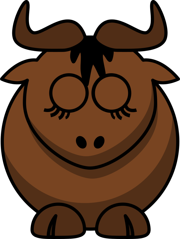 Gnu clipart #14, Download drawings