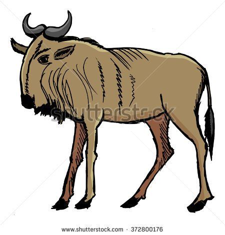 Gnu clipart #10, Download drawings