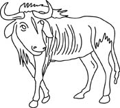 Gnu clipart #3, Download drawings