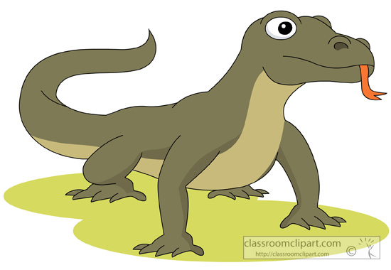 Komodo Dragon clipart #19, Download drawings