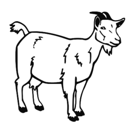 Goat clipart #9, Download drawings