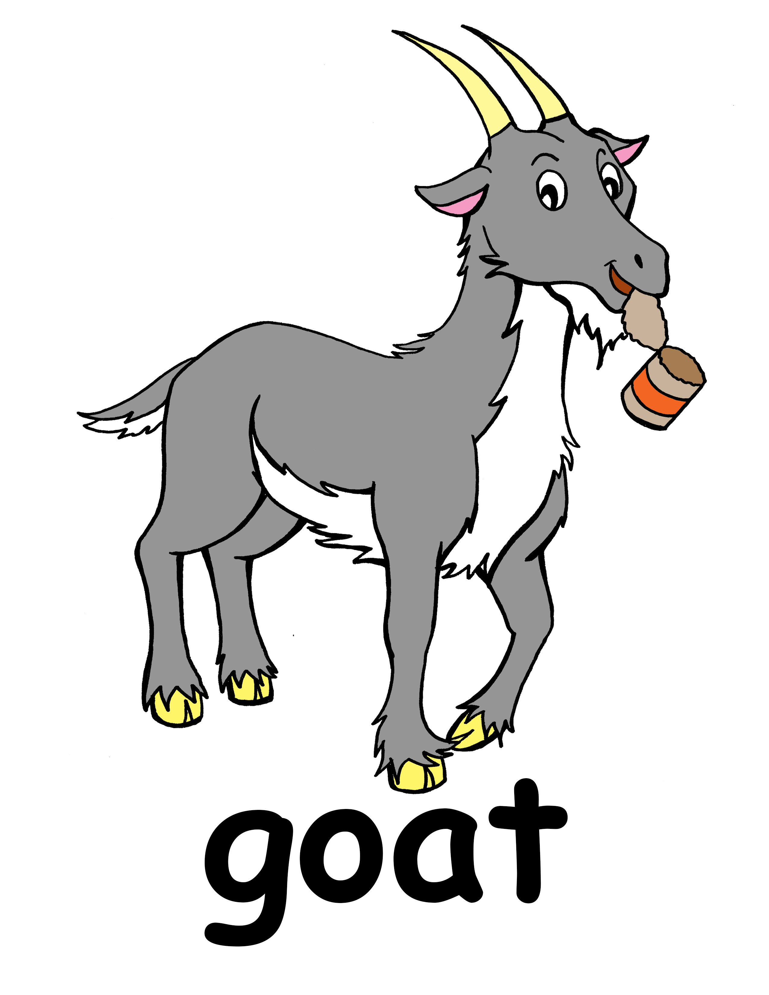 Goat clipart #3, Download drawings