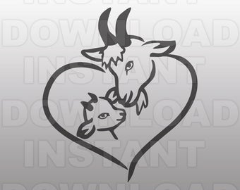 Goat svg #640, Download drawings