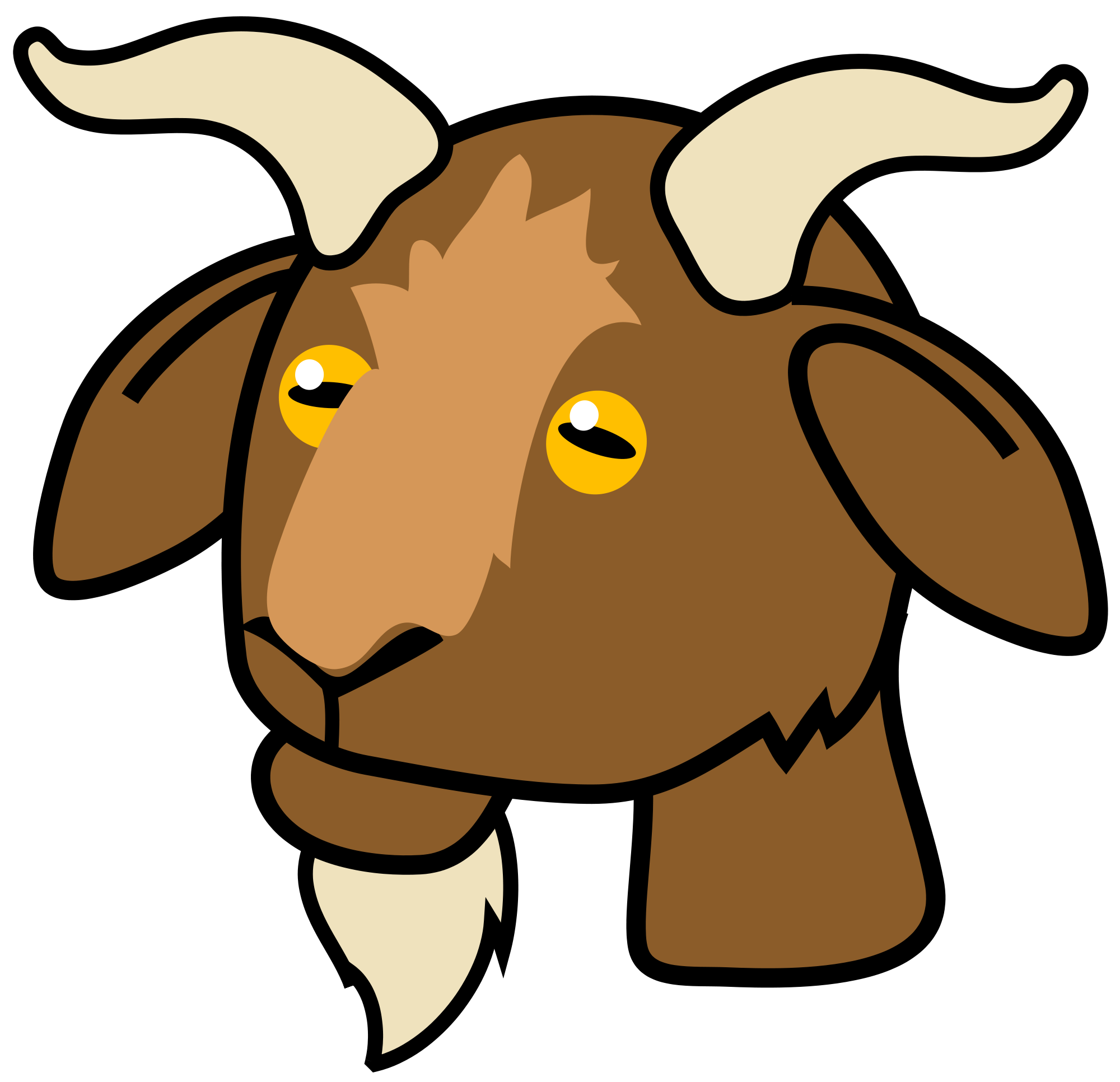 Goat svg #323, Download drawings