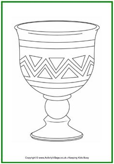 Goblet coloring #2, Download drawings