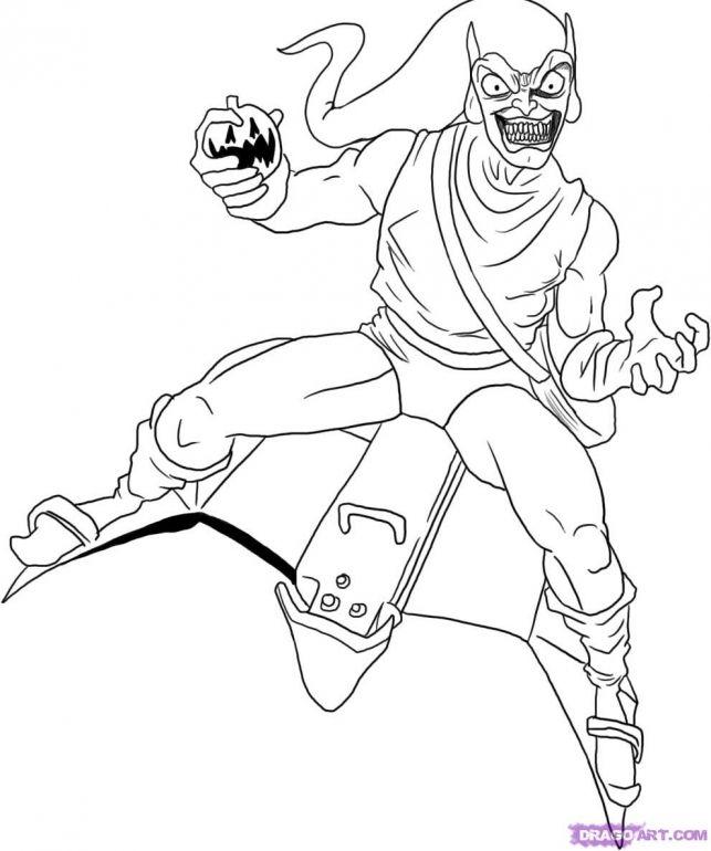Goblin coloring #13, Download drawings