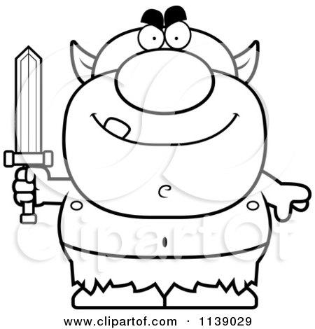 Goblin coloring #9, Download drawings