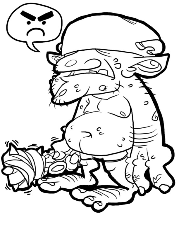Goblin coloring #8, Download drawings