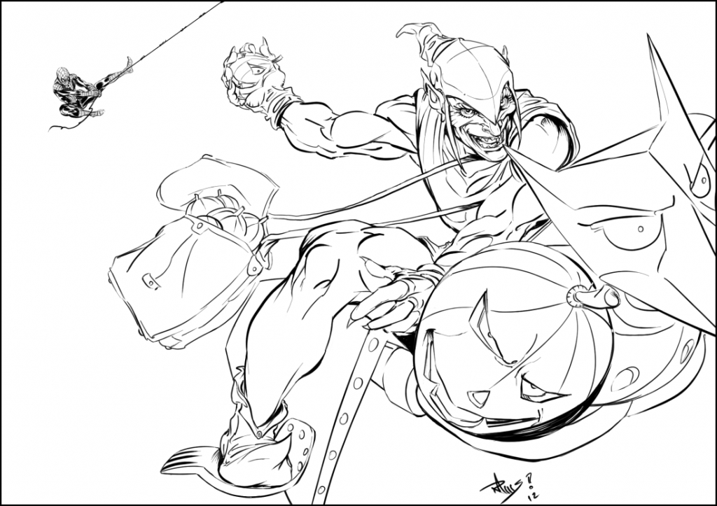 Goblin coloring #3, Download drawings