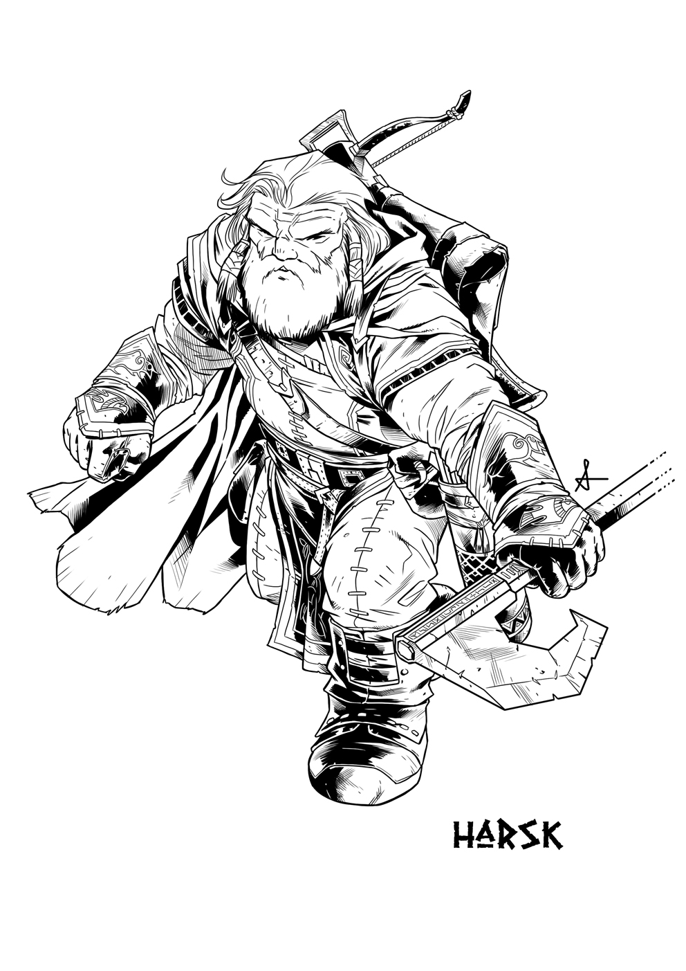 Goblin Gaveleer coloring #2, Download drawings