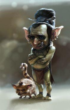Goblin Gaveleer svg #16, Download drawings