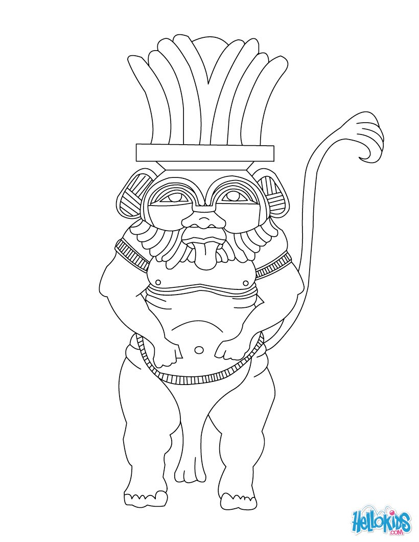 God coloring #3, Download drawings