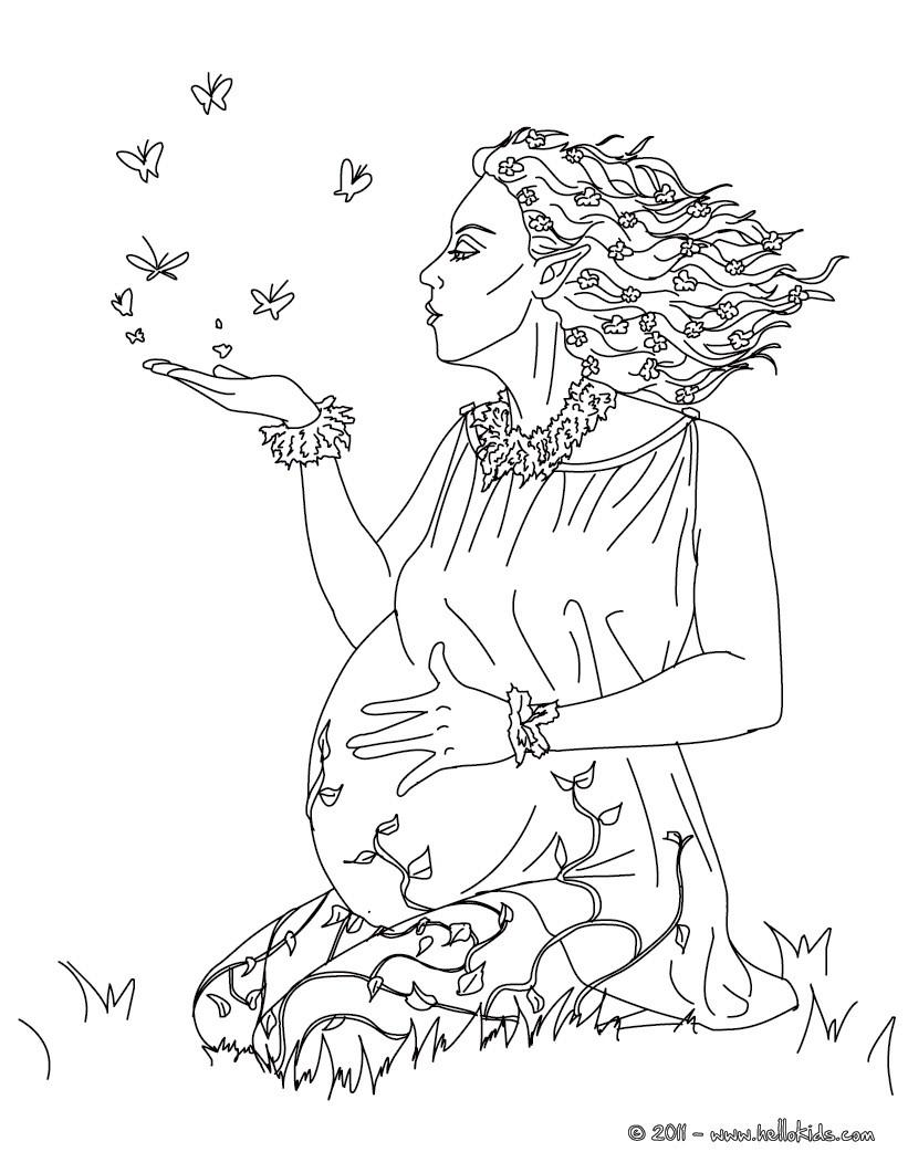 Goddess coloring #8, Download drawings