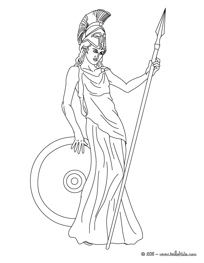 Goddess coloring #16, Download drawings