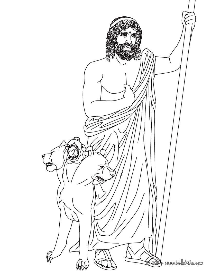 Gods coloring #16, Download drawings