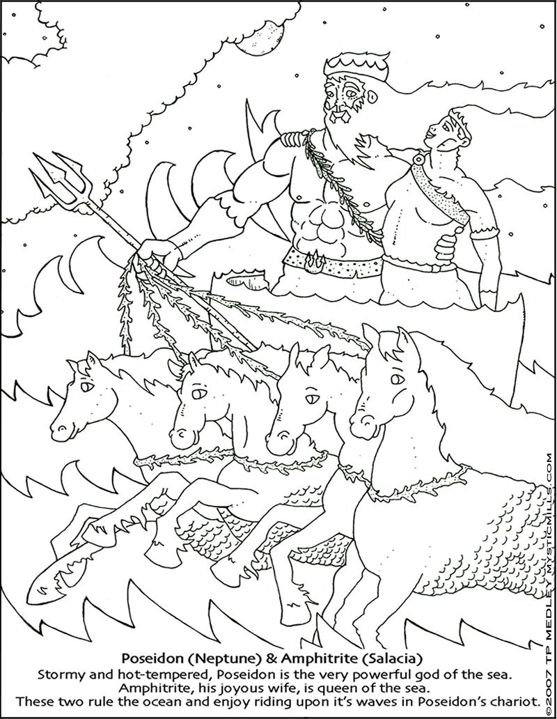 Gods coloring #5, Download drawings