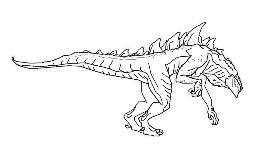 Godzilla coloring #10, Download drawings