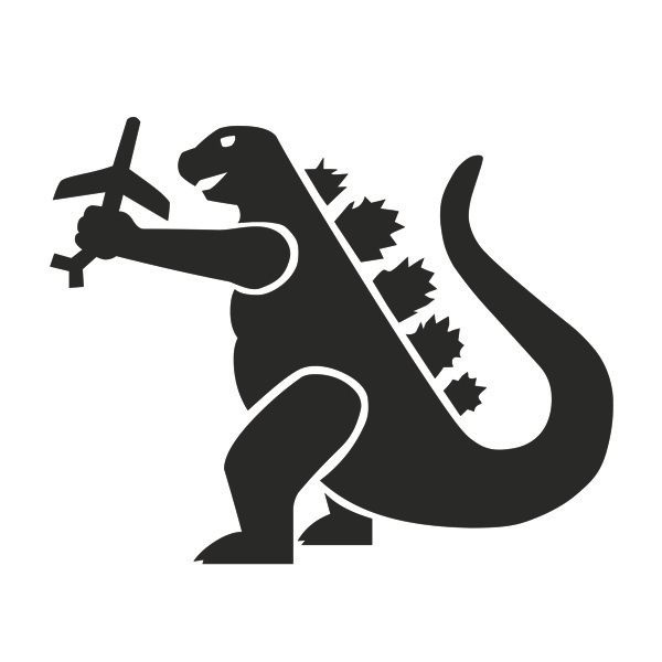 Godzilla svg #10, Download drawings